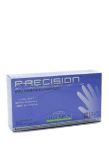 PRECISIO 4mil COBALT BLUE PF NITRILE GLOVES, MEDIUM - 100/box (10 boxes/case) - S4276