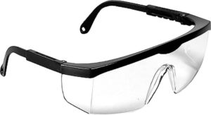 SCORPION CLEAR SAFETY GLASSES (12/box) - S4420