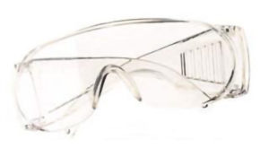 EP700C DYNAMIC CLEAR VISITORS SAFETY GLASSES (12/box) - S4438
