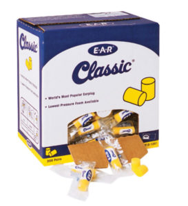 E-A-R CLASSIC EAR PLUGS, UNCORDED - 200 pair - S4512