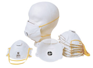 N95 PARTICULATE RESPIRATOR w/VALVE - 10/box - S4610
