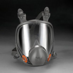 3M6800 - FULL FACE RESPIRATOR - MEDIUM - S4636