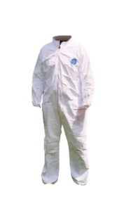 TYVEK DISPOSABLE COVERALLS, NO HOOD - 2X-LARGE - S4705-XXL