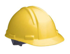 STANDARD HARD HAT w/RATCHET HEAD GEAR - Yellow - S4718