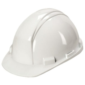STANDARD HARD HAT w/RATCHET - WHITE - S4719