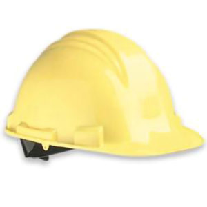 STANDARD HARD HAT w/PINLOCK - YELLOW - S4725