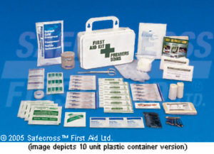 SEC 8 DELUXE FIRST AID KIT - REFILL - S4804