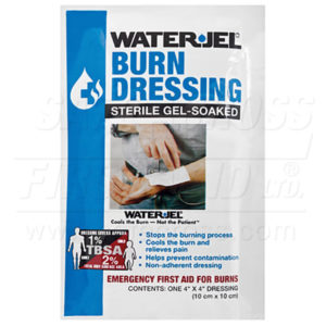 "WATERJEL BURN DRESSING - 4"" x 4"" - S4824"