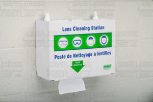 METAL LENS CLEANING STATION - Complete - S4870
