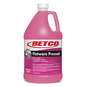 BETCO LIQUID FLATWARE PRE-SOAK - 4L (4/case) - T3218