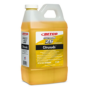 BETCO FASTDRAW 26 CITRUSUDS DISH DETERGENT CONCENTRATE - 2L, (4/case) - T3232