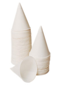4BR-2050 4oz CONE WATER CUPS - 5000/Case (25 sleeves) - T3686