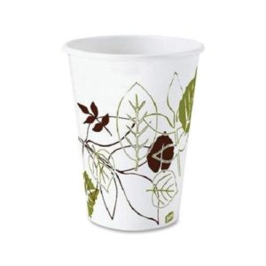 2338PATH 8oz PAPER HOT DRINK CUP - PATHWAYS DESIGN, 1000/case - T3691