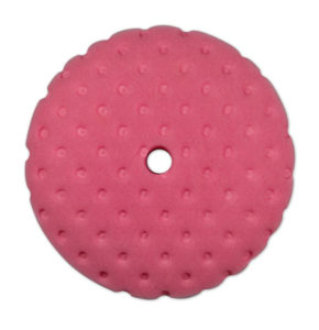 "8 1/2"" PINK FOAM HEAVY CUT VEHICLE POLISHING PAD (12/case) - V10088"