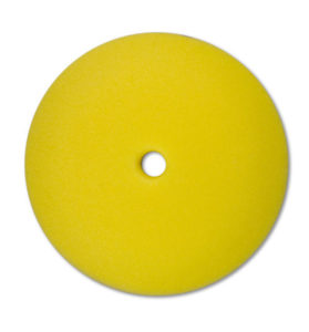 "8 1/2"" YELLOW FOAM MEDIUM CUT VEHICLE POLISHING PAD (12/case) - V10089"