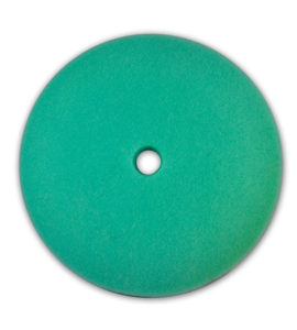 "8 1/2"" GREEN FOAM LIGHT CUT VEHICLE POLISHING PAD (12/case) - V10090"