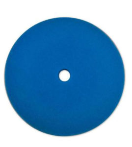 "8 1/2"" BLUE FOAM SOFT VEHICLE POLISHING PAD (12/case) - V10091"