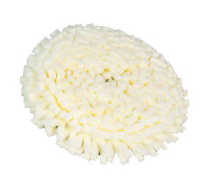 "9"" WHITE ""TUFTED"" SUPERSOFT FOAM  POLISHING PAD (24/case) - V10092"
