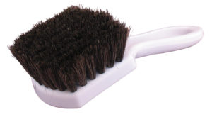 HORSE HAIR LEATHER & UPHOLSTERY BRUSH - V10547