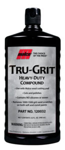 TRU-GRIT HD VEHICLE COMPOUND - 32oz (12/case) - V6080