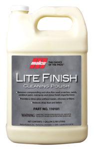 LITE FINSH - LIGHT DUTY VEHICLE POLISH - 1 Gal (4/case) - V6094