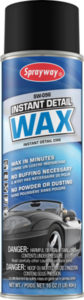 SW-096 SPRAYWAY INSTANT DETAIL VEHICLE WAX - 454g  (12/case) - V6100