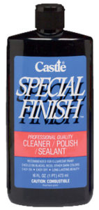 CASTLE SPECIAL FINISH VEHICLE WAX - 16 oz (12/case) - V6806