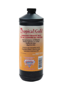 AV - TROPICAL GOLD CARNAUBA FINISHING WAX - 946 mL (12/case) - V823-10