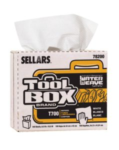 78200 TOOL BO T700 WaterWeav WIPER, POP-UP BOX - 100/box, (8 box/case) - W2614