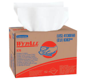 41300 WYPALL X70 WHITE WORKHORSE WIPER TOWELS BRAG BOX - 152/case - W2615
