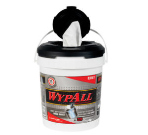 83561 WYPALL WIPER TOWELS IN A BUCKET - 220wipes/bkt, (2/case) - W2619