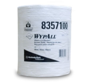 83571 WYPALL WIPER TOWELS IN A BUCKET REFILL - 220sht, 3/case - W2620