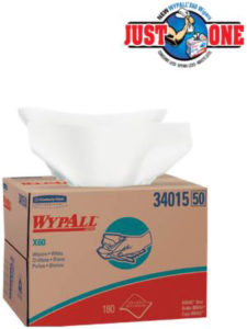 34015 WYPALL X60 WIPER TOWEL BRAG BOX - 180/case - W2621