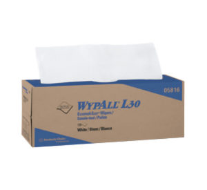 05816 WYPALL L30 WIPER TOWELS  POP-UP BOX - 120/pkg, 6pkg/case - W2630