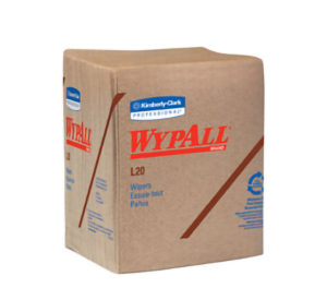 47000 WYPALL L20 3ply 1/4 FOLD WIPER TOWELS - 68/pkg, 12pkg/case - W2636