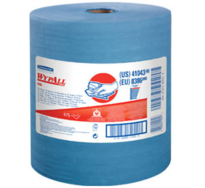 41043 WYPALL X80 BLUE JUMBO WIPER TOWEL, 475sht/roll - W2646