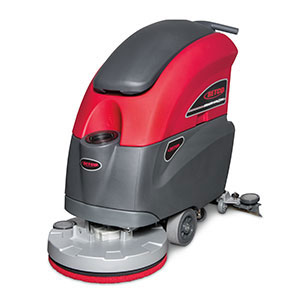 "STEALTH 20"" AUTOMATIC FLOOR SCRUBBER w/PAD DRIVER, 12v AGM BATTERIES & CHARGER - F3730"