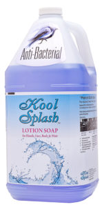 KOOL SPLASH ALOE VERA ANTI BACTERIAL HAND SOAP - 4L (4/case) - A8226