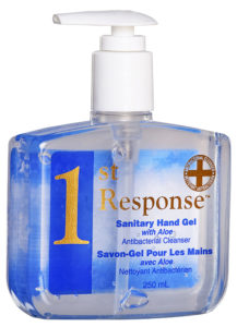 1st RESPONSE HAND SANITIZER - 250 mL (12/case) - A8512