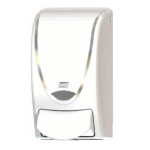 CHR1LDS DE PROLINE CURVE 1000 FOAM DISPENSER - White/Chrome (15/case) - A8620