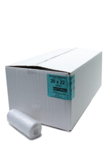 Cle 20 x 22 6mic UTILITY NATURAL CAN LINERS, 2000/case - B2706