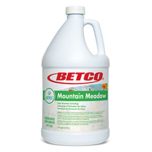 BETCO SENTEC MOUNTAIN MEADOW LIQUID DEODORIZER CONCENTRATE - 4L, (4/case) - D7128