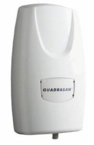 QUADRASAN SANITIZING DRIP DISPENSER - White - D8044