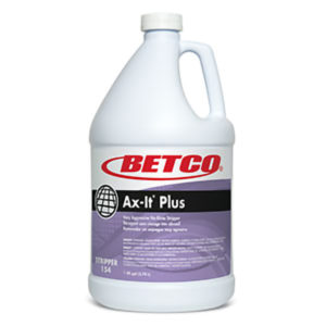 BETCO AX-IT PLUS FLOOR STRIPPER - 4L (4/case)   ***DG*** - F4104