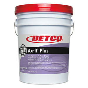 BETCO AX-IT PLUS FLOOR STRIPPER - 18,9L   ***DG*** - F4106