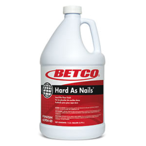 BETCO HARD AS NAILS HARD FILM FLOOR FINISH - 4L (4/case) - F4204