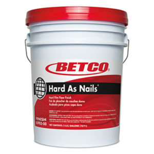 BETCO HARD AS NAIL HARD FILM FLOOR FINISH - 18,9L - F4206