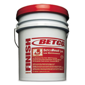 BETCO BEST LM FLOOR FINISH - 18,9L - F4224