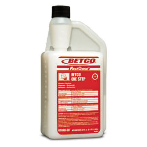BETCO FASTDOSE ONE STEP FLOOR CLEANER RESTORER - 32oz, (6/case) - F4298