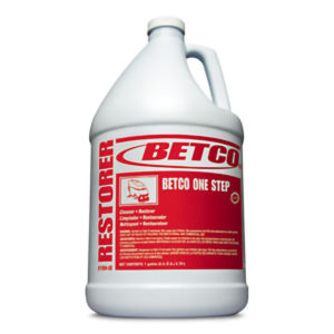 BETCO ONE STEP CLEANER RESTORER - 4L, (4/case) - F4300